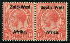 SG 2 SOUTH WEST AFRICA 1923 - 1d ROSE-RED - MOUNTED MINT