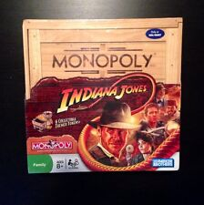 Steven Spielberg George Lucas INDIANA JONES MONOPOLY GAME   New & RARE - Ltd Ed