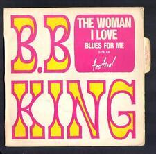 """B.B. KING 45T SP Anglo BIEM """"The woman I love"""" / Blues"""