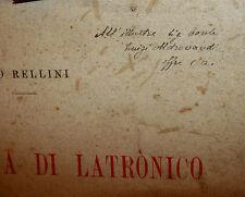 Archeologia, Ugo Rellini: Caverna Latronico Culto Acque Età Bronzo 1917 Lincei
