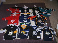 NHL Various Teams & Players Infant Jersey Bodysuit Outfits Sz 12-24M New & Used