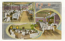 DENVER HOME DAIRY RESTAURANT 3 VIEW OLD POSTCARD PC4560