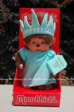 7 inch STATUE of LIBERTY MONCHHICHI monkey doll SEKIGUCHI htf NEW USA ship