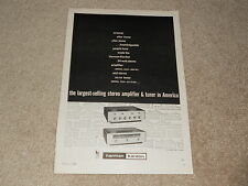 Harman Kardon 1959 Tube Amplifier Ad, A224, T224 Tuner, 1 pg, RARE!