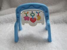 New FISHER PRICE Loving Family Dollhouse Blue Play Gym Baby Symphony Nursery Toy