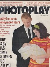 OCT 1967 PHOTOPLAY movie star magazine KATHY LENNON
