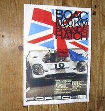 Porsche 1970 BOAC Brands Hatch 917 Rally POSTER