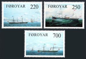Faroe 90-92, MNH. Cargo Ships. Arcturus, Laura, Thyra, 1983