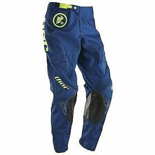 Thor Phase MX Pants Motocross Dirtbike Offroad Enduro Bargain Gasket Navy Lime
