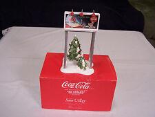 "Department 56 - The Original Snow Village Coca-Cola ""Billboard"" #5481-0"