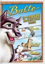 Balto 3-Movie Adventure Pack [DVD] NEW!