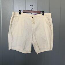 Lane Bryant (Plus Size) Beige Linen Blend Shorts Size 20