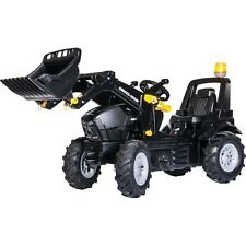 rolly toys 710331  Deutz Agrotron 7250 TTV Warrior schwarz m. Frontl. Luftbereif