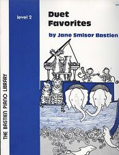Bastien Piano Duet Favorites Level 2 Old MacDonald Rock Along Shades Of Blue