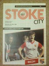 1983/84 Stoke City v Southampton - Division One