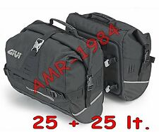 GIVI UT808 COPPIA BORSE laterali  25 + 25 litri waterproof  GIVI UT808