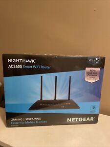 NETGEAR Nighthawk AC2600 Smart WiFi Router (R7450) New Sealed