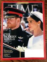 TIME MAGAZINE JUNE 4 2018  THE MODERN ROYALS- A PERFECT MATCH SHIPS FREE