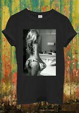 Sexy Kitchen Girl Cooking Funny Cool Retro Men Women Top Unisex T Shirt 1232