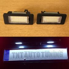 LED Feux de Plaque Immatriculation 6000K BMW 3 Series E46, 4/5 doors, Touring