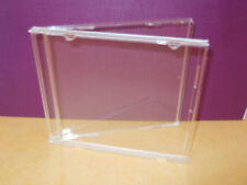 10  CD Clear cases WITHOUT trays - READ LISTING