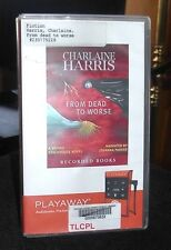 From Dead to Worse Sookie Stackhouse #8 by Harris / Parker Playaway Audio PDR
