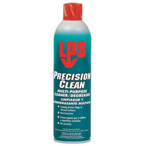 LPS 02720 Precision Clean Multi-Purpose Cleaner Degreaser 18 oz. Aerosol Can