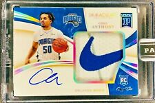 2021 Immaculate Blockchain COLE ANTHONY NIKE Patch OnCard AUTO RC RPA, 1/1 SSP!!