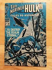 Tales to Astonish #98 (Dec 1967), Hulk, Sub-Mariner, GD+