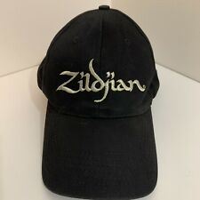 Zildjian Cymbals Drum Hat Cap Gold Thread Embroidered Black