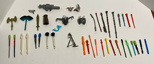 Huge Lot Of Vintage Weapons, Projectiles, Accessories, And Gear Read Description