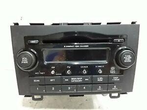 08 09 Honda CRV AM FM six disc satellite radio receiver OEM 39100-SWA-A100