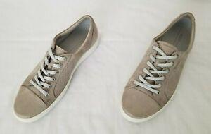 Mens Size 12 Brown Ecco Danish Design Casual Leather Sneakers