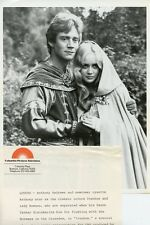 LYSETTE ANTHONY ANTHONY ANDREWS PORTRAIT IVANHOE ORIGINAL 1981 CBS TV PHOTO