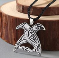 Cancer Zodiac Pendant Astrology Necklace Zinc Alloy Celtic Viking