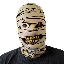 Mask Mummy Monster Design 3D Effect Face Skin Lycra Fabric Face Mask Halloween