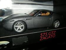 1:18 Hot Wheels Elite Ferrari 575 GTZ Zagato grau/grey in OVP