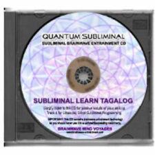 Subliminal Learn Tagalog Cd-Language Sleep Learning Aid