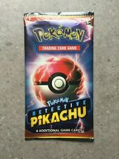Pokemon TCG Cards 1x Detective Pikachu Booster Pack New Factory Sealed