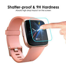 1 PACK Tempered Glass Screen Film Protective For Fitbit Versa Lite Smart Watch