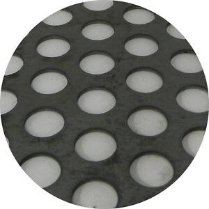 Mild Steel Perforated Sheet 2m x 1m x 1.5mm R10 T15 Bin 73 - 500115070