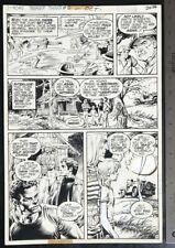 NESTOR REDONDO SWAMP THING #19 1975 ORIGINAL ART