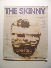 THE SKINNY MAGAZINE 125 FEB 2016 * NEVERMEN SAVAGES AIDAN MOFFAT HINDS TUFF LOVE