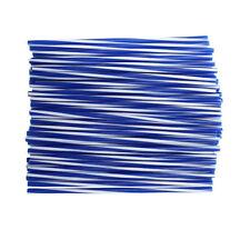 Blue 72pcs Wheel Rim Spoke Skins Covers Wrap Tubes Decor Protector Kit Offroad
