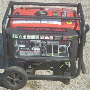 Predator 4000 Gas Power Generator