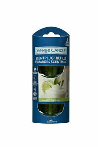 6 x Yankee Candle Scent Plug Twin Pack Fragrance Refills-Vanilla Lime