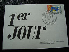 FRANCE - carte 1er jour 22/3/1969 (conseil de l europe) (cy56)french