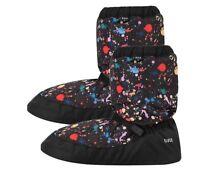 Bloch dance warm up boot - ballet - paint splatter and geometric patterns