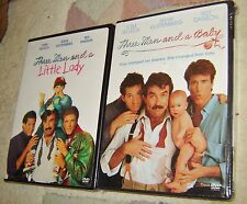THREE MEN AND A BABY & THREE MEN AND A LITTLE LADY DVDS, NEW AND SEALED, FUNNY!!