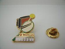 Pin's Pins PIN Badge TENNIS ROLAND GARROS 1993 THOMSON ARTHUS BERTRAND
